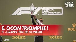 Esteban Ocon remporte le GP de Hongrie !