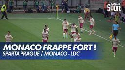 Le résumé de Sparta Prague / Monaco