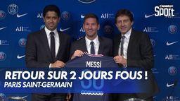 Lionel Messi à Paris, du rêve à la réalité