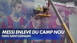 Lionel Messi : le jour d'après à Barcelone