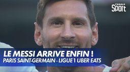 Lionel Messi présenté au Paris Saint-Germain !