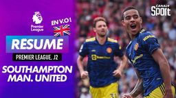 Le résumé de Southampton / Manchester United en VO