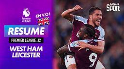 Le résumé de West Ham / Leicester