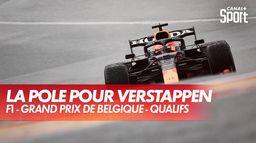 La pole pour Max Verstappen en Belgique ! Quelle fin de Q3 !