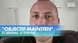 L'interview de Jérôme Bonnet, entraîneur de Saint-Étienne