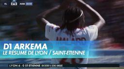 Lyon s'impose face à Saint-Etienne (6-0) - D1 Arkema