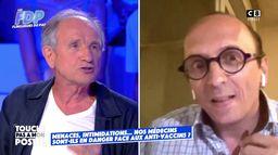 Le débat tendu entre Fabrice Di Vizio et Jean-Paul Hamon sur le danger dont font face les médecins