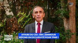 Affaire du CSA : Eric Zemmour répond en exclusivité dans TPMP !
