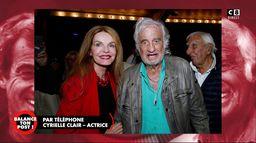 Cyrielle Clair, actrice, revient sur ses souvenirs de tournage avec Jean-Paul Belmondo