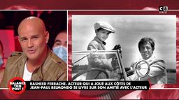 """Rachid Ferrache raconte son tournage dans """"L'As des as"""" avec Jean-Paul Belmondo"""