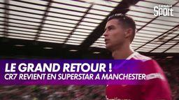 Cristiano Ronaldo acclamé par les supporters de Manchester United !