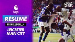 Le résumé de Leicester / Manchester City