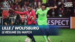 Le resumé de Lille / Wolfsburg