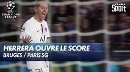 Ander Herrera ouvre le score pour le PSG