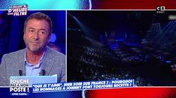 """""""C'était très émouvant"""" : Bernard Montiel revient sur le concert hommage à Johnny Hallyday"""