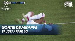 Mbappé sort sur blessure - Champions League
