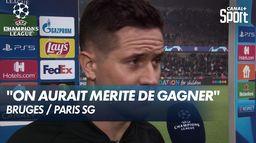 La réaction à chaud d'Ander Herrera après le nul à Bruges - Champions League