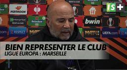 """Jorge Sampaoli : """"nous avons le devoir de bien représenter le club"""""""