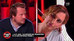 """Geoffroy Lejeune face à une personne transgenre : """"Vous participez à une propagande médiatique"""""""