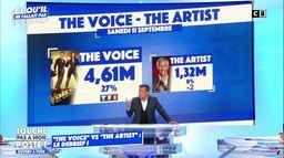 """""""The Artist"""" VS """"The Voice"""" : le débrief"""