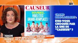 """""""Grand remplacement"""" : Elisabeth Lévy, revient sur la Une du magazine Causeur"""