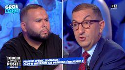 Prénoms étrangers : le face-à-face houleux entre Jean Messiha et Anasse Kazib, cheminot