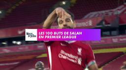 Les 100 buts de M. Salah en Premier League