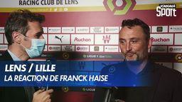 """Franck Haise après Lens / Lille : """"Des membres du staff pleuraient à la fin du match"""""""