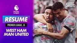 Le résumé de West Ham / Manchester United