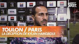 La déception de Kylan Hamdaoui