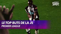 Le top buts de la J5
