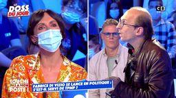 """Géraldine Maillet face à Fabrice Di Vizio : """"Vous êtes un pitre médiatique"""""""