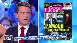 François Hollande paparazzé en scooter : Manuel Valls revient sur l'affaire !