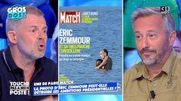 """Eric Naulleau s'insurge contre la Une d'Eric Zemmour dans Paris Match : """"Remuer la m**de est votre métier"""""""