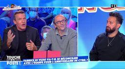 Fabrice Di Vizio va-t-il se réconcilier avec l'équipe pour l'anniversaire de Cyril Hanouna ?