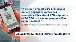 Le nombre de faux pass sanitaire augmente en France