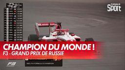 Dennis Hauger Champion du monde de Formule 3