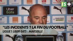 """J. Sampaoli : """"Les incidents? La fin du football"""""""