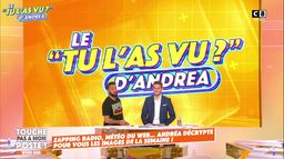 """Le """"Tu l'as vu"""" d'Andréa Bruche : Didier Raoult se lâche complètement !"""