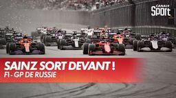 Le départ du Grand Prix de Russie