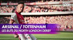 Les buts d'Arsenal / Tottenham