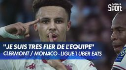 Monaco s'impose face à Clermont (3-1)