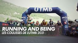 Running and Being - UTMB 2021