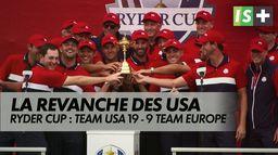 Victoire des USA en Ryder cup