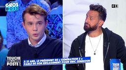 """Stanislas Rigault, président de """"Génération Z"""", affirme son engagement pour Eric Zemmour"""