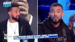 """Mehdi, agresseur d'Eric Zemmour en 2020 : """"Je reçois des menaces de mort"""""""