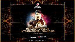 Antoine Dupont reçoit le trophée de Meilleur International français !