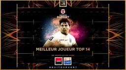 Antoine Dupont sacré Meilleur Joueur de Top 14
