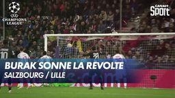 Burak Yılmaz marque le but de l'espoir pour Lille