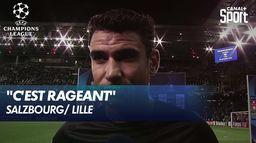 La réaction de B. André après la défaite du LOSC (2-1) - Salzbourg / Lille